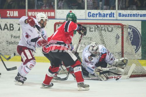 Spiel 2 Play-Offs Finale Oberliga 2008/2009 - Rote Teufel EC Bad Nauheim vs. Hannover Indians 1:5