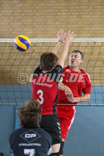 Volleyball Landesliga Nord 2010/11 TV Steinfurth vs. TV Biedenko