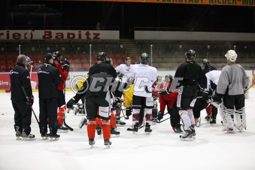 Eishockeyoberliga West 2012/13 -  Training - Rote Teufel EC Bad